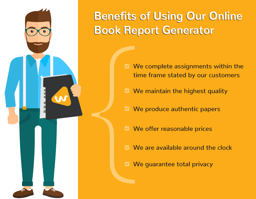 Benefits of Using Our Online Book Report Generator
